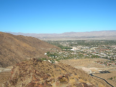 Ridge looking towards PS (Palm Springs, California, United States) Photo