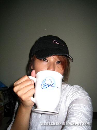 drinkinh oprah cup