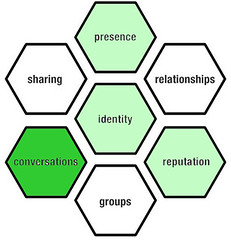 Blogs and the Honeycomb Model