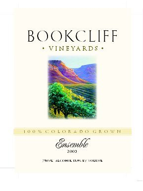 bookcliff vineyards merlot