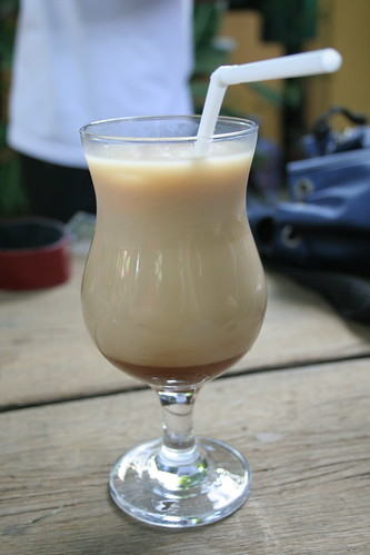 Iced Caramel Macchiato at Bag of Beans