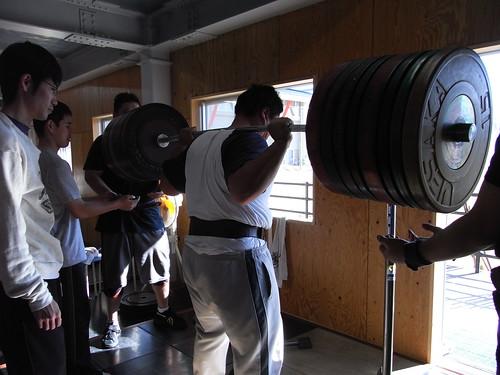 スクワット 270kg