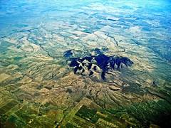 Crossing the Canada-USA Border (giovanni paccaloni) Tags: usa canada history montana united border flight arts traditions erosion alberta geology borderline aerials prehistory mi