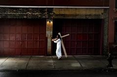 Cross Street (noamgalai) Tags: street nyc usa ny newyork walking photo cross walk faith religion jesus picture photograph williamsburg jesuschrist    noamg jesusofnazareth    noamgalai       moshehacmon