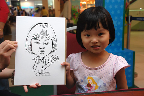 Caricature live sketching for Marina Square Day 2 - 17
