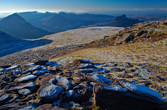 Cl Mr, Wester Ross. 30/12/08 (Douglas Griffin) Tags: scotland westerross stacpollaidh culmor culbeag benmorecoigach inverpolly coigach nikond80 nikkor18135mm