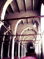 Amr Ibn Al-As mosque (Ranoush.) Tags: muslim islam prayer egypt mosque cairo masjid salah amribnalas