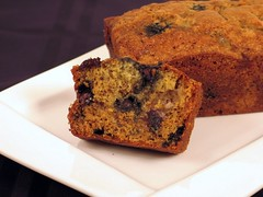 blueberry banana bread 2b