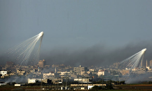 Israeli missiles launched into Gaza aimed at the death and destruction of the Palestinian people. Over 1,400 people were massacred in the latest fighting. by Pan-African News Wire File Photos