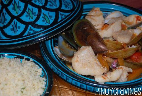 Kasbah Seafood Saffron Tagine