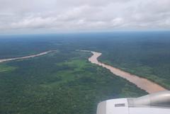 madre de dios from the plane (LaCatalina) Tags: peru jungle amazonbasin madrededios