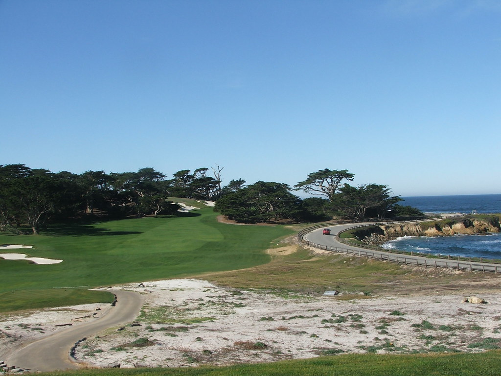 Cypress 14th from tee