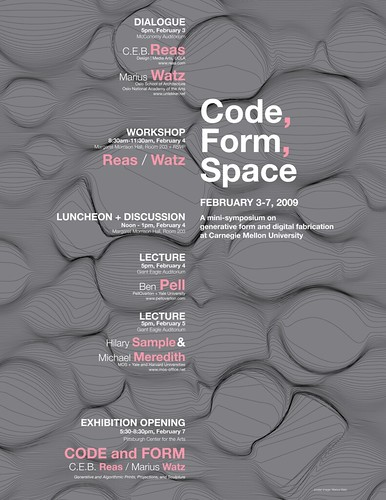 """Code, Form, Space"" symposium 01"