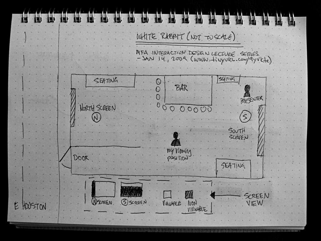 SVA MFA Interaction Design Lecture Series at White Rabbit Map