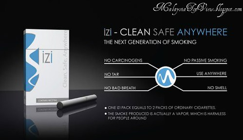 Myvic IZI Disposable Electronic Cigarette (One Time Use)
