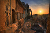 the ancient city has awoken (sadaiche (Peter Franc)) Tags: city morning travel archaeology sunrise temple golden ancient ruins cambodia stones angkorwat experience gods mystical spiritual complex hdr 1740 apsara mtmeru elitephotography 5dmkii