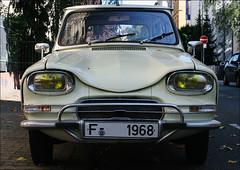 Wonderful Eyes !!! (AnyMotion) Tags: auto face car design eyes gesicht frankfurt citroen 2006 ami6 anymotion 60ties