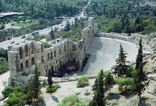 Odeon des Herodes Atticus (Griechenland)