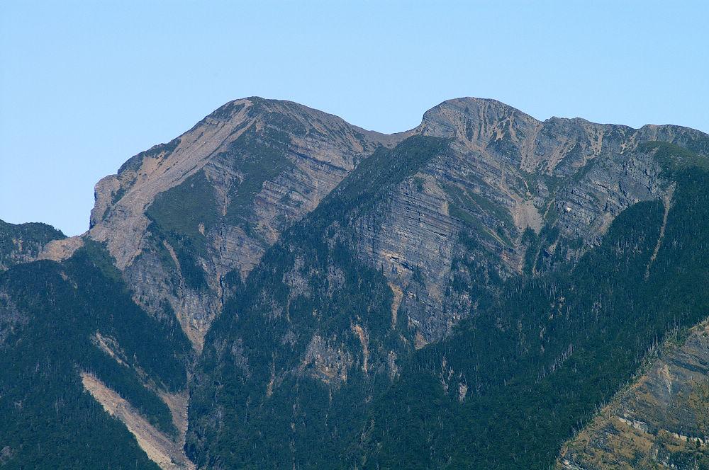 南湖大山day2-20 雪山南壁