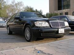 The Mighty S600L '97 (q8500e) Tags: black hot wow mercedes benz cool king s super 600 mercedesbenz beast 1997 kuwait 12 mighty 97 q8 v12 140 sclass s600 w140 lwb larg germanmade 400hp q8i s600l q8500e
