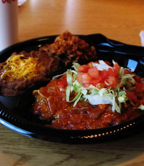 Armadillo Grill Enchilada