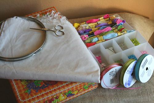 Stitchalong Supplies