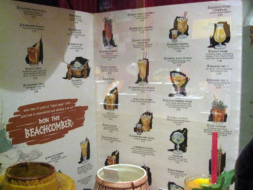 don the beachcomber menu