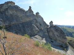 Some of the rocks at Peshastin Pinnacles