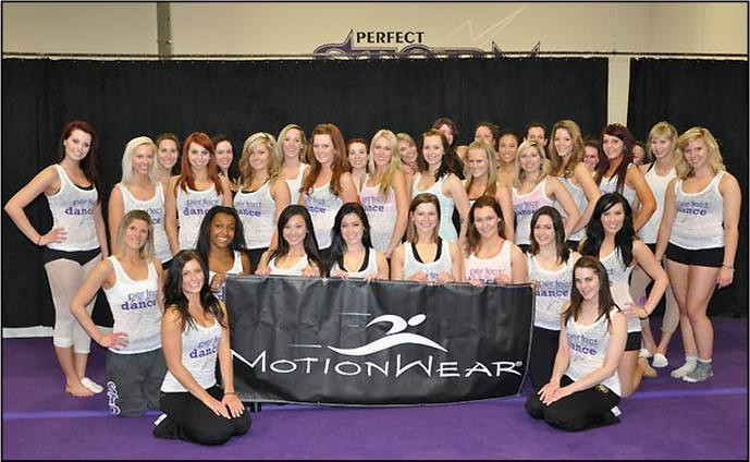Perfect Pro Dancers Wearing Motionwear T-shirts