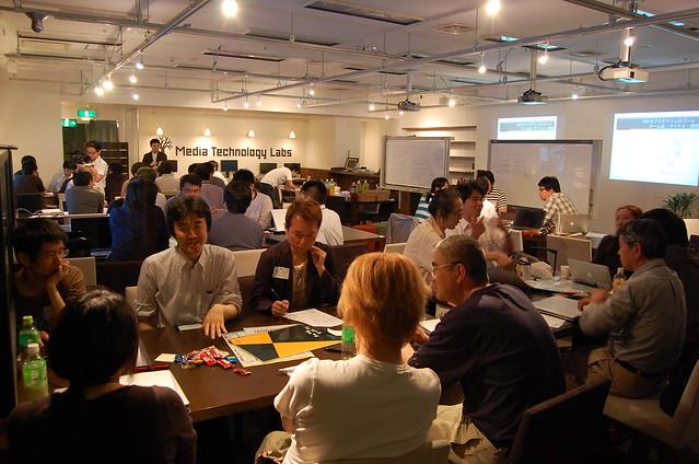 議論中 #hack4jp Tokyo