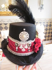 new pics to sort 1535 (Dream A Little Designs) Tags: music angel dancers goddess jewelry bridesmaid concerts earrings moulinrouge rockandroll stevienicks girlsnight tompetty fleetwoodmac tophats rockgoddess frenchhats whitetophat weddingtophats newyearsevetophats floweredtophats customtophats girlsnighttophats