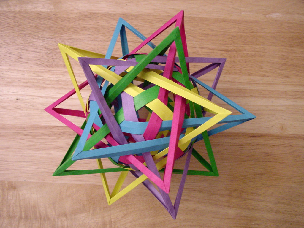 The World's Best Photos of origami and triacontahedron ... - photo#30