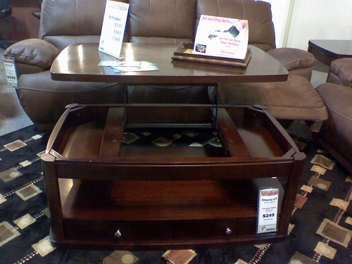 new coffee table by Petunia21