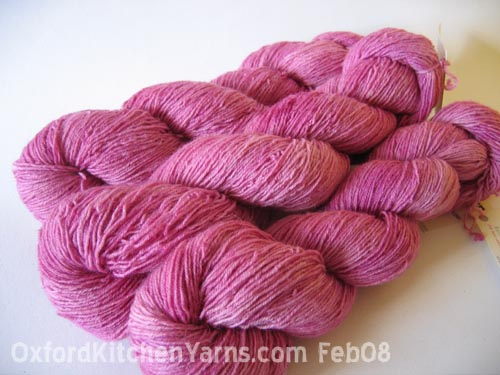Oxford Kitchen Yarns Sock Yarn: Iris