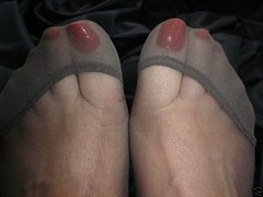 27 (feetman1) Tags: feet stockings femalefeet