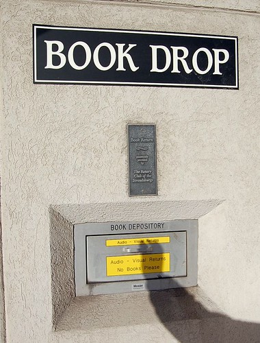 Book Drop: No Books, Please