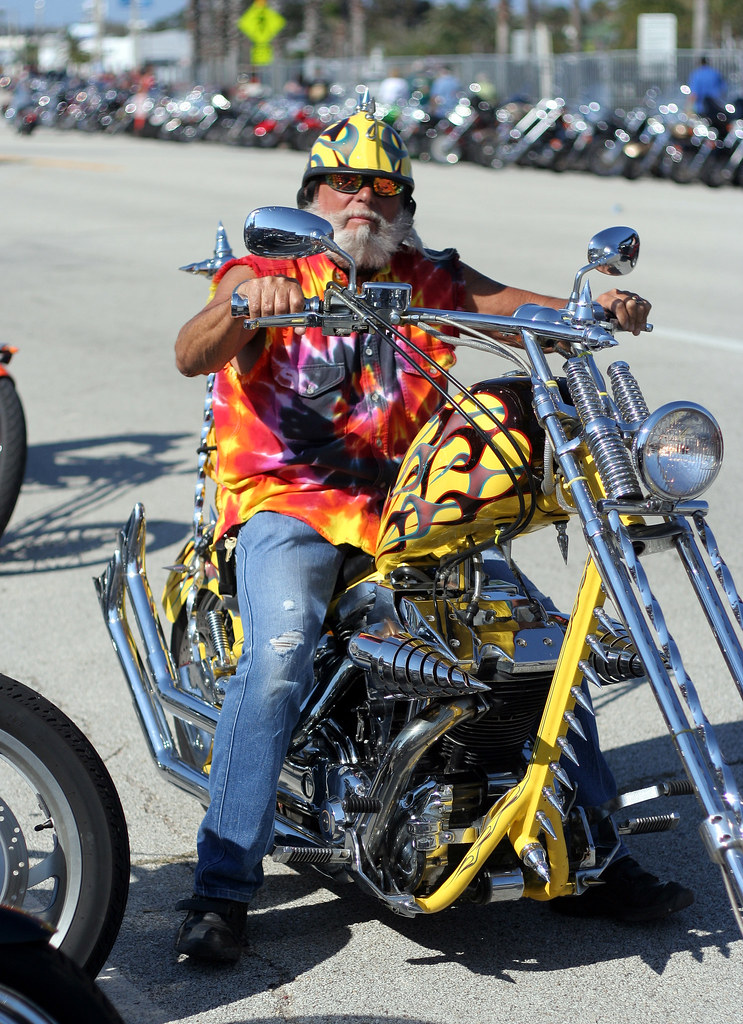 Daytona Bike Week 2008 - People