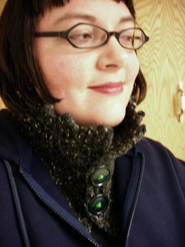 Me in my Rachael Neckwarmer