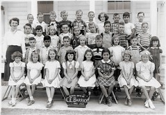 My First Grade Class Picture - Houston Texas 1951 (nbklx17 (Sandy)) Tags: school blackandwhite me kids vintage texas sandy classmates group houston 1950s elementaryschool firstgrade oldfamilyphotos classpicture explored oldblackandwhitephotos