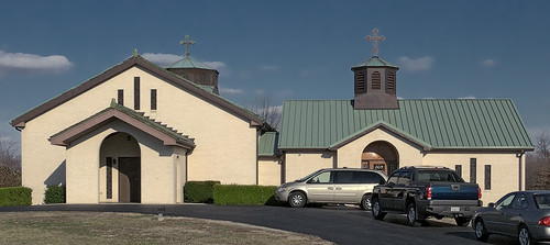 Saints Cyril and Methody Orthodox Church, in Granite City, Illinois, USA - exterior