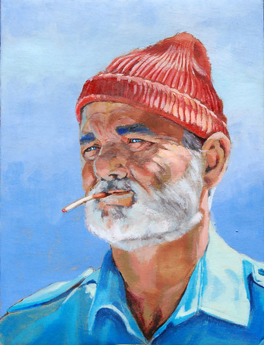 """Bill Murray as Steve Zissou"""