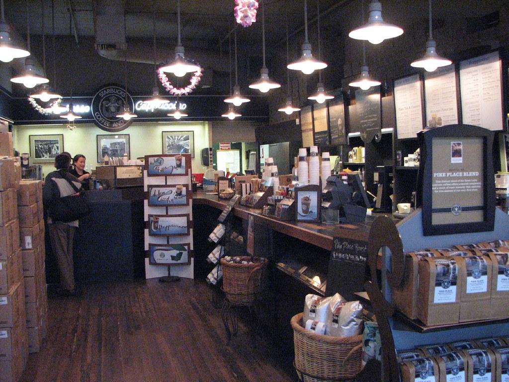 Starbucks early 2008