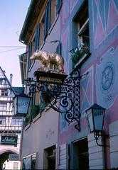 Freiburg - Hotel Bren (roger4336) Tags: germany deutschland hotel freiburg baden 1963 bren badenwrttemberg