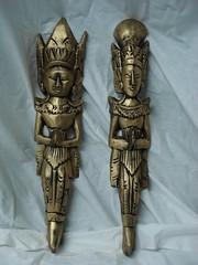 Casal HamaSita. (Digo Pessoa) Tags: bonecas arte afro artesanato imagens decoração gesso pinturas africanas decorativo