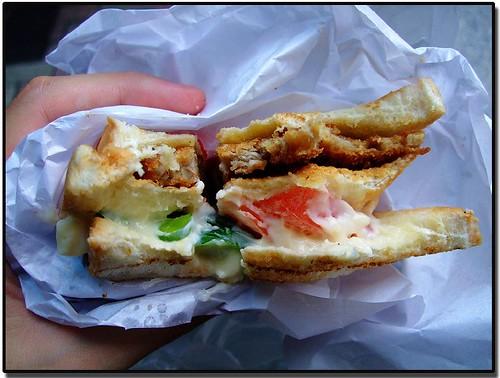 豬排三明治