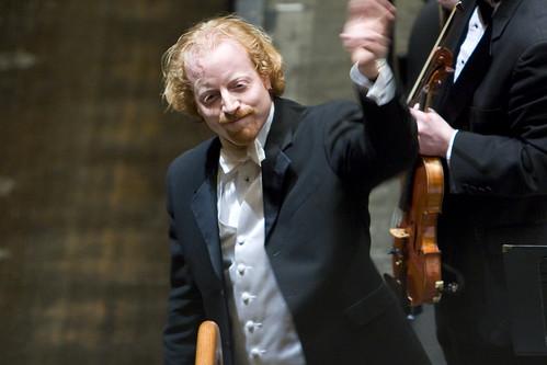 IC Symphony Orchestra conductor Jeffery Meyer