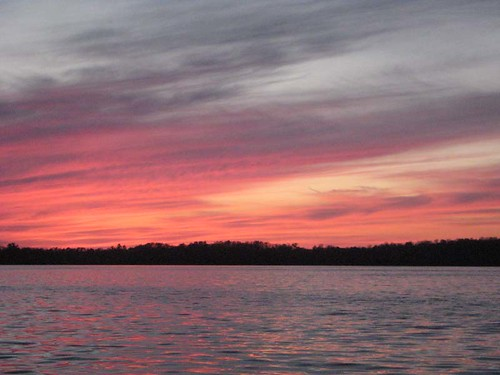 Sunset on Lake Kitchi