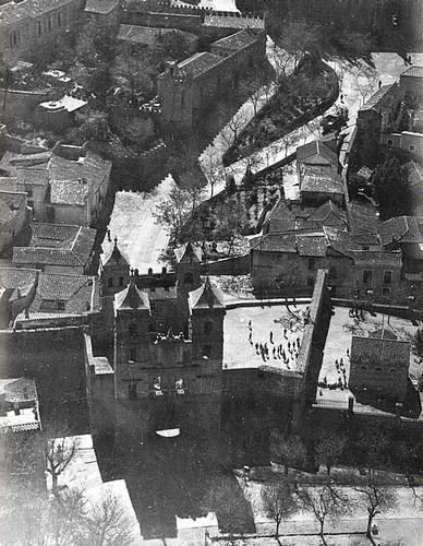 Puerta del Cambrón desde el aire