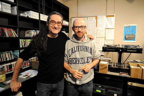 Kevin Cole and Moby at KEXP