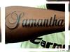 tatuagem nome no braco 4 TARZIA TATTOO -